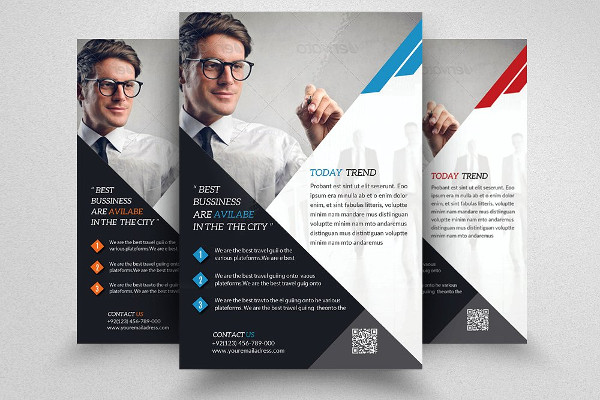 Professional Business Training Flyers