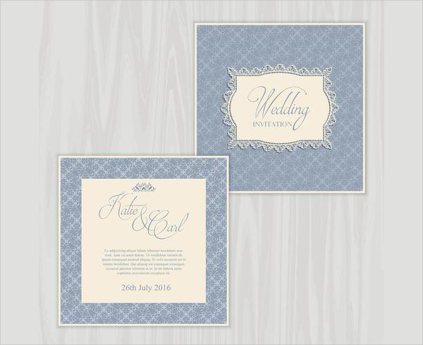Rustic Wedding Invite Free Download