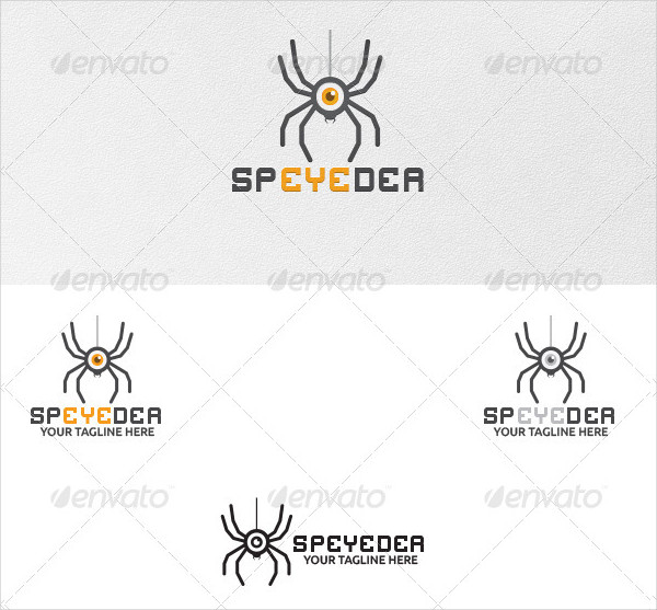 Sp'eye'der Logo Template