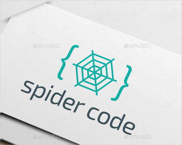 Spider Code Logo Designs