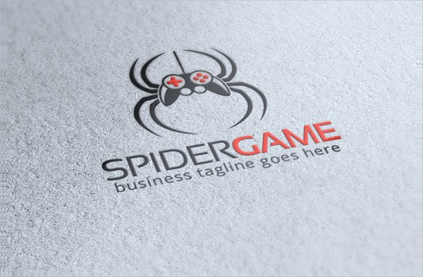 Spider Game Logo Template