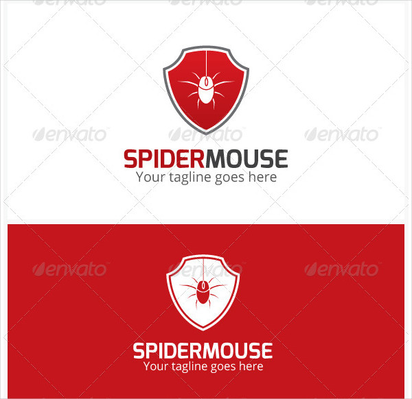 Spider Mouse Logo Design