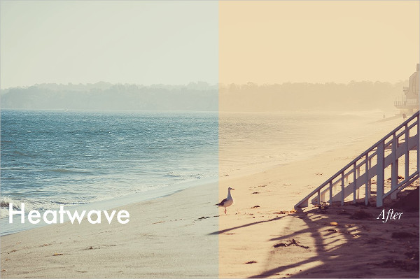 Summer Heatwave Photoshop Actions