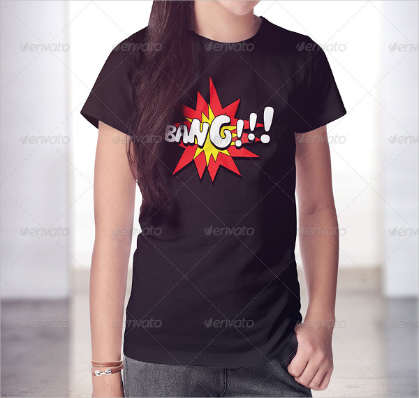 Teenagers T-Shirt And Polo Shirt Mockup