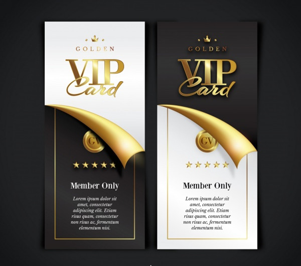 VIP Membership Cards Collection Free Download