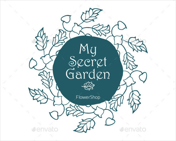12 Hand Drawn Floral Label Templates