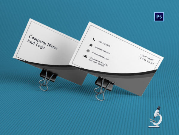 Cool Accountant Business Card Template