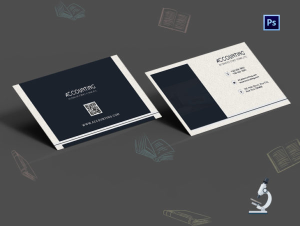 Modern Accounting Business Card