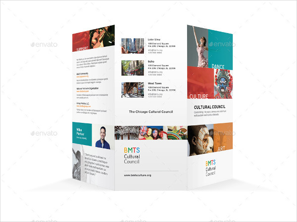 Art and Culture Trifold Brochure