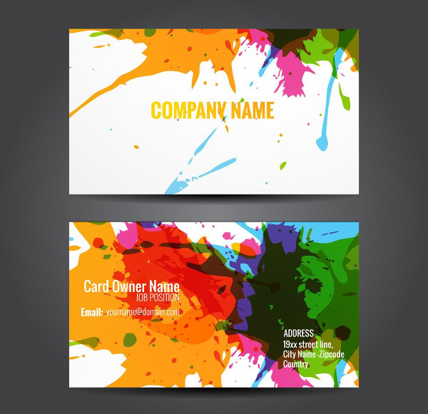 Attractive Business Card Template Free
