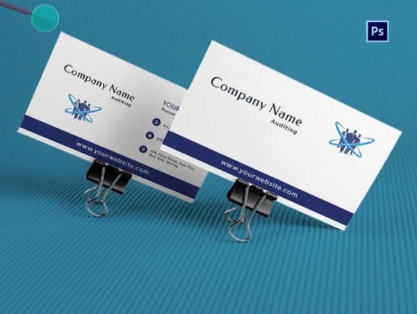 Auditing Firm Business Card