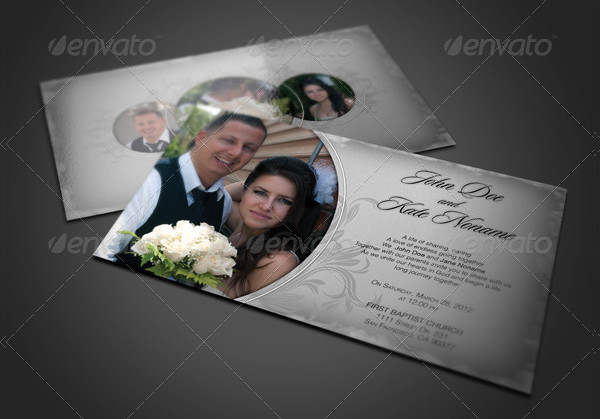 Best Marriage Invitations Card Template