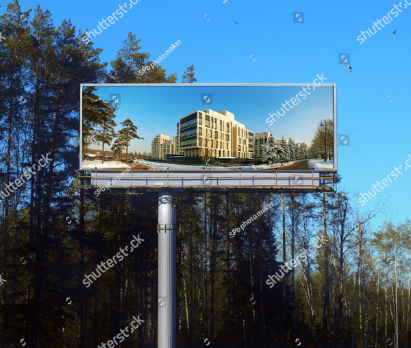 Big Real Estate Billboard Designs