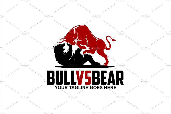 Bull Vs Bear Logo