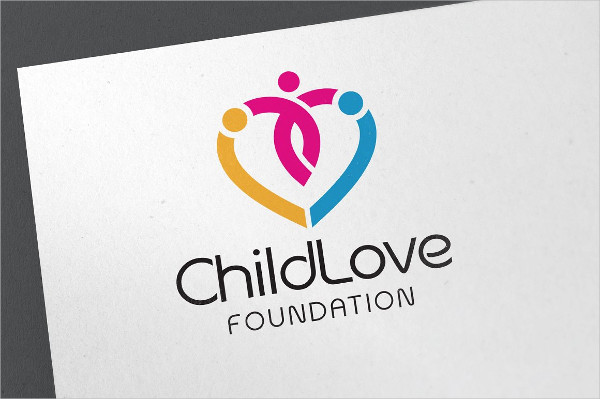 Child Love Logo Template