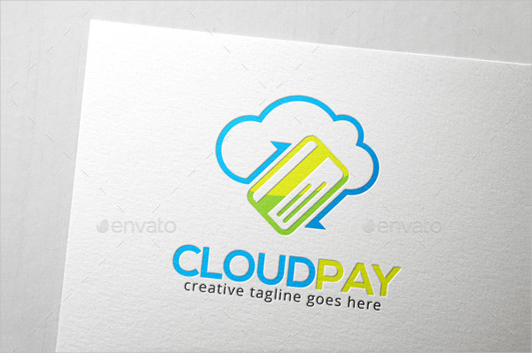 Cloud Pay Logo Template