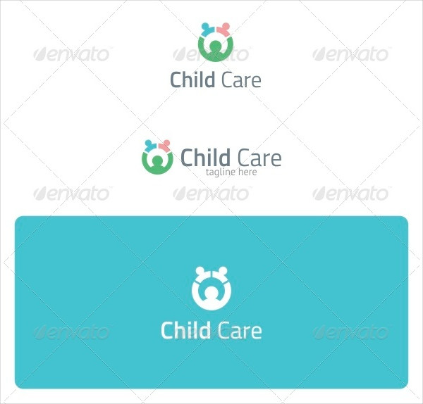 Cool Child Care Logo Template