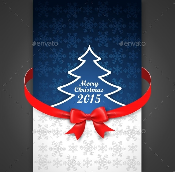 Cool Holiday Menu Card Template