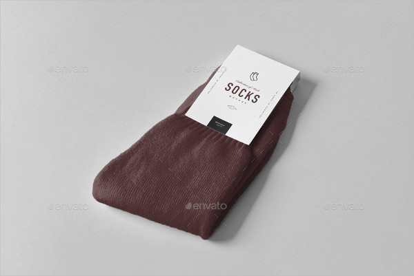 Cool Socks Package Mockup