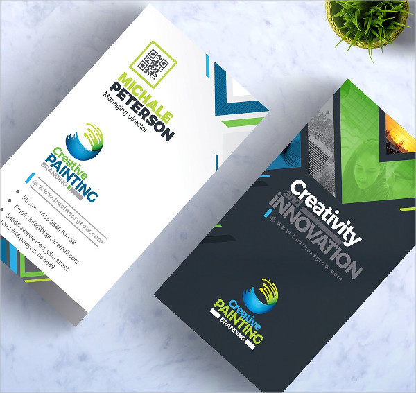Creative Painting Business Cards