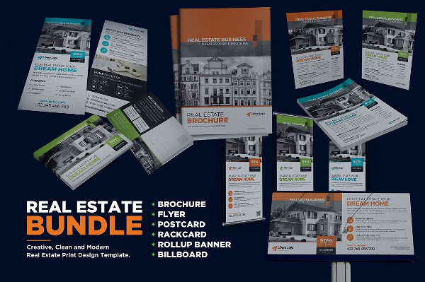 Creative Real Estate Print Design Bundle