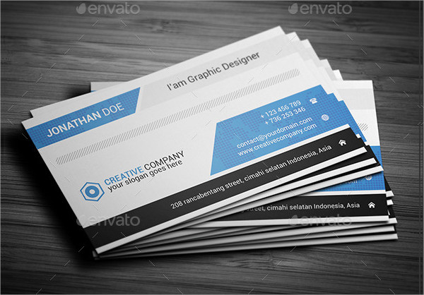 Creative Yoga Business Card Template