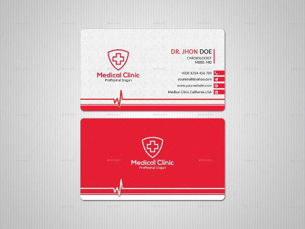 Cool Business Card for Doctor