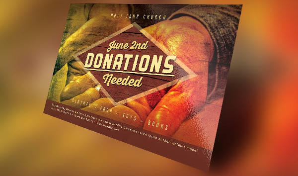 Donation Church Flyer Template