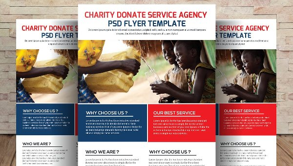 Donation Flyer Template