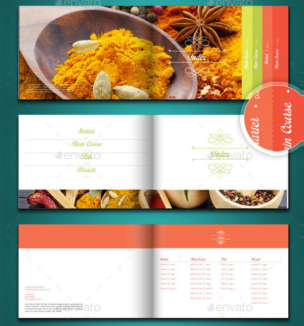 Editable Recipe Card Template