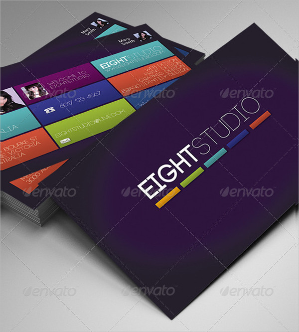 Eight Studio Business Cards