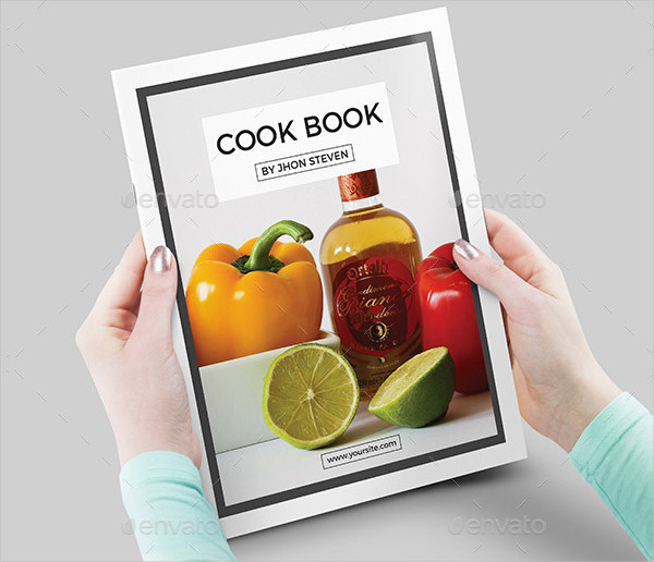 Elegant Cook Book Template