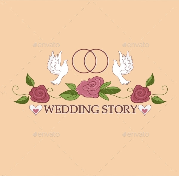 Elegant Wedding Labels Logo