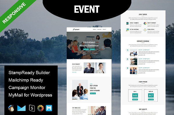 Event Invitation Responsive Email Template