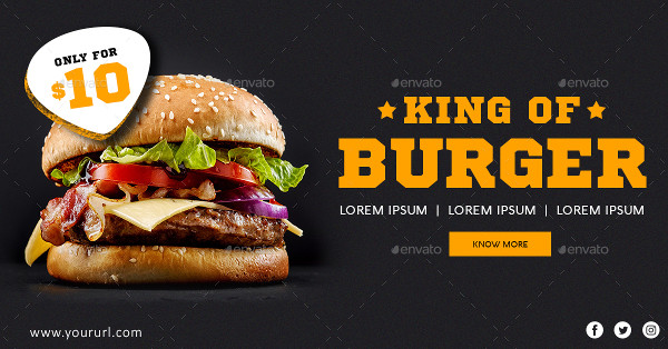 Food Promotional Ad Banners
