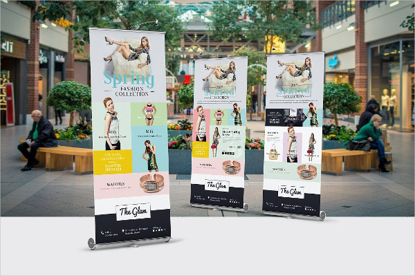 Fashion Company Roll-Up Banner
