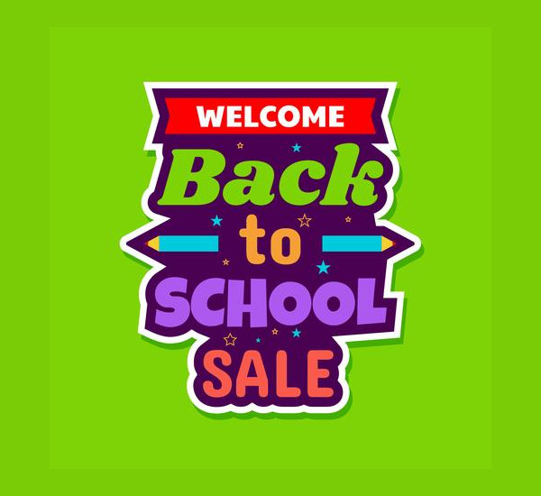 Free Back To School Sale Poster Download