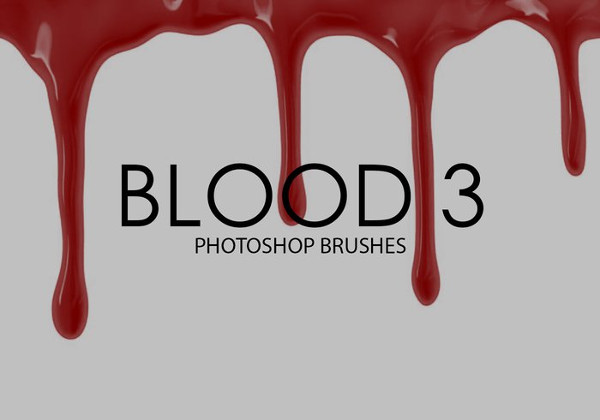 Free Blood Photoshop Brushes Download