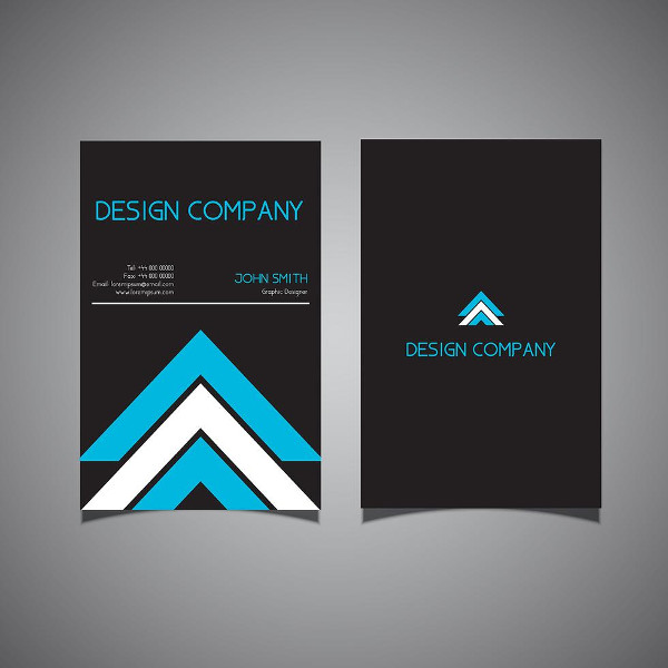 Free Download Business Card Template with Modern Design
