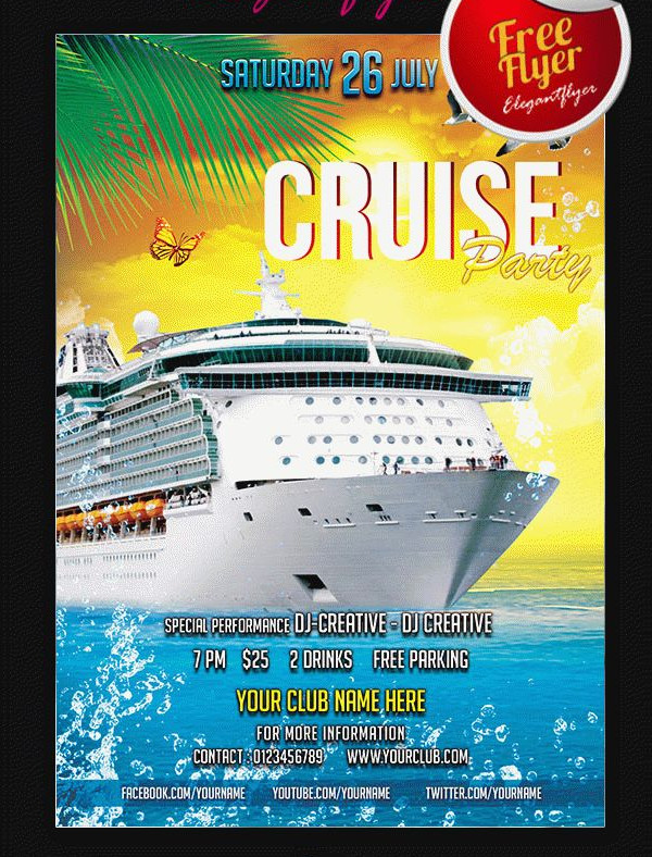 Free Flyer Party for Cruise