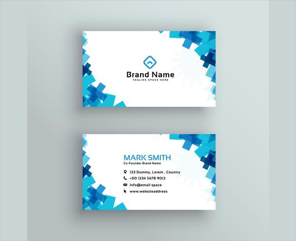 Free Medical Or Healthcare Style Business Card Design