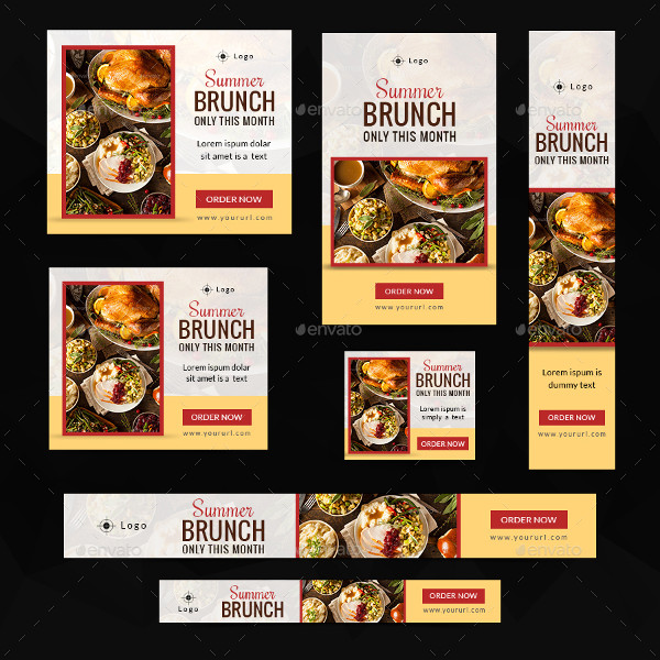 Cool Food Banner Templates