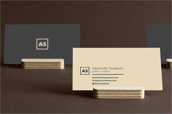 Minimal Executive Business Card Template