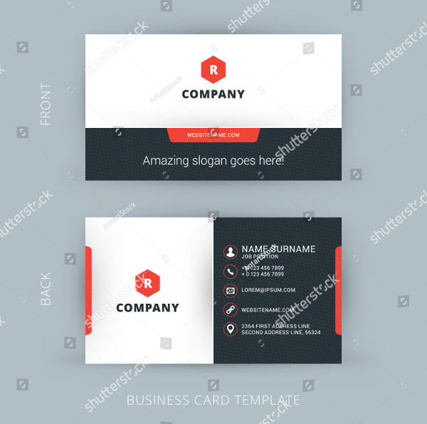 Modern Creative and Clean Business Card Template