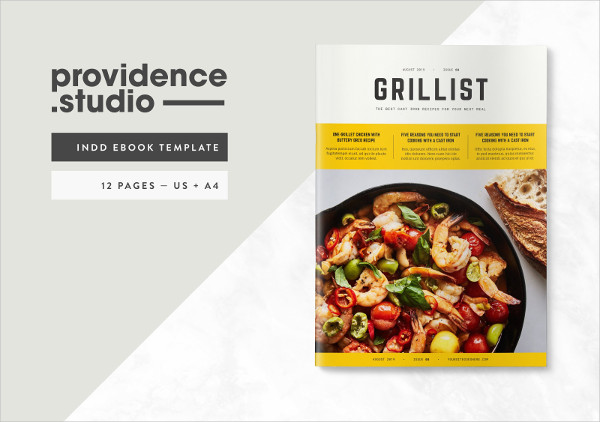 Modern Recipe Ebook Template