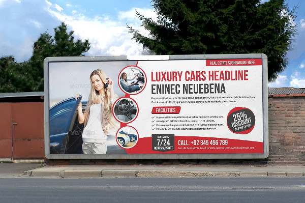 Multipurpose Billboard Signage Design Template