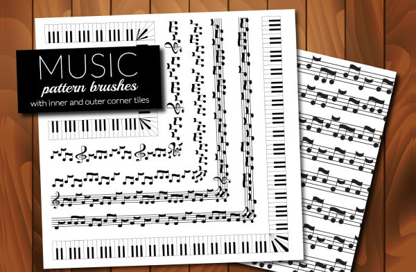 Music Brushes for Adobe Illustrator
