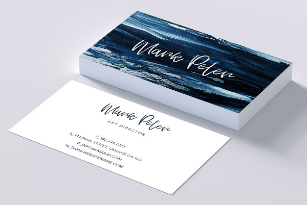Business Cards for Painting Company