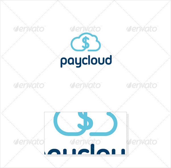 Pay Cloud Logo Template