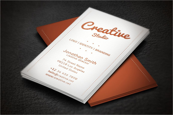 Personal Minimalistic Business Card Template